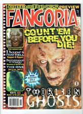 WoW! Fangoria #208 / 13 Ghosts! Lord Of The Rings! Brotherhood Of The Wolf!