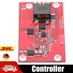 5A MPPT Solarpanel Controller 3S Lithiumbatterie Ladetafel Modul Lademodul DHL