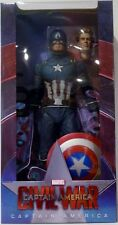 "CAPTAIN AMERICA Marvel Civil War Movie 1/4 Scale 18"" Action Figure Neca 2018"