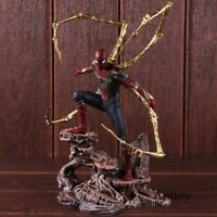 Avengers Infinity War Iron Spider Spiderman Statue Figure Collectible Toy