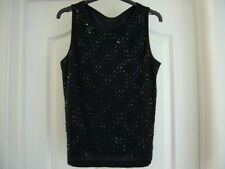Marks & Spencer Ladies Top Black size 12