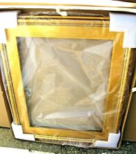 """14"""" x 18"""""""" CLASSIC MODERN PICTURE PAINTING FRAME PLEINAIR WOOD GOLD 3"""" WIDE"""