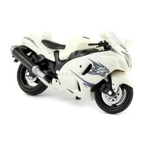 Suzuki GSX1300R Hayabusa 2010 white - NewRay 1:18 Scale Diecast Model Motorcycle