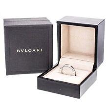 Anello Ring oro gold B zero Bulgari Bvulgari white bianco 54 / 14