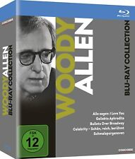 WOODY ALLEN Collection 5 Movie Blu-Ray Set NEW (Region B-Not USA Compatible)