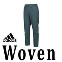 MENS ADIDAS SQUAD WOVEN  PANTS ANKLE ZIPS LIFESTYLE WATER RESIST GRAY 537BD 4XLT