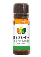 Black Pepper Essential Oil Pure Natural Authentic Piper Nigrum Aromatherapy 10ml