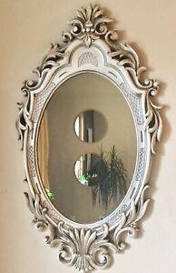 Vtg Ornate Antique Gold Mirror Hollywood Regency Syroco Homco Burwood Mid MCM