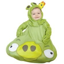 Kostüm~USA~56-62-68~Angry Bird~Fasching~Karneval~Babykostüm~Baby~Overall~grün