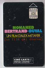CINEMA  CARTE / CARD .. PATHE CINE 2 PLACES MOHAMED ALEX METAYER EM CHIP/PUCE
