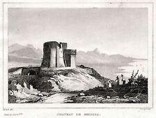 MELISSA. Crotone. Calabria. Regno delle Due Sicilie. ACCIAIO. Stampa Antica.1838