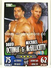 Slam Attax Rumble-david octunga & Michael McGillicutty-día Team