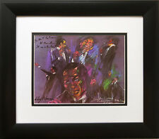 """Sinatra Opening - Fountainebleau "" LeRoy Neiman  NEW Art  Miami Beach Frank"