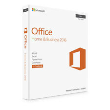 Genuine Microsoft Office 2016 For Mac Home & Business OS X