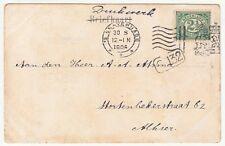 Netherlands: Postcard, Haag - Wyver; 's Gravenhage to Alhier, 30 August 1906