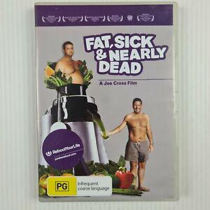 Fat, Sick & Nearly Dead DVD - A Joe Cross Film - TRACKED POST