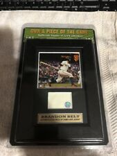Brandon Belt Highland Mint Own A Piece Of The Game Collection Game Used Jersey