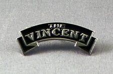 Metal Enamel Pin Badge Brooch The Vincent Motorcycles Bikes Old Vintage Logo