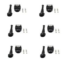 For Audi 100 Quattro Porsche 911 Set of 6 Fuel Injector Connectors 1287013003