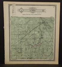 Michigan Jackson County Map Summit Township 1911  L19#29