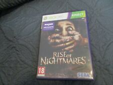 """JEU XBOX 360 Kinect """"RISE OF NIGHTMARES - horreur"""" Edition Francaise"""