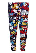 Pantalones Leggins de Diseño Comic Paul Frank Polyester Ajustable Talla M  4518 77322e44653e
