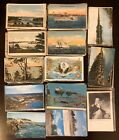 Huge MAINE Vintage Postcard Lot of 445 All Over the State