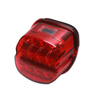 Eagle Lights Layback Red LED Tail Light Rear Lamp Harley Sportster Touring Dyna
