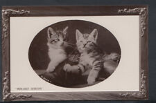 "Animals Postcard - Cats - Kittens - ""Mischief Makers""     RS10775"