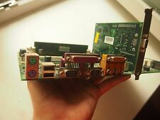 SALE 95% EPOX EP-3VSA2 MOTHERBOARD+ CELERON 1.3GHZ SOCKET 370+S3 TRIO, 128MB RAM