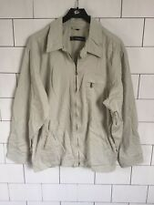 MENS URBAN VINTAGE RETRO LIGHT FIELD HUMMEL JACKET COAT SIZE SMALL #224