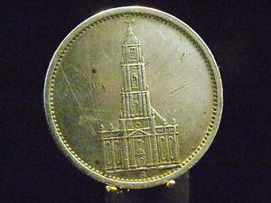 - M.F.B - Dt. Reich 3.Reich - 5 Reichsmark 1935 A - Garnisonkirch - in ss /ss 4