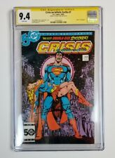 CGC SS 9.4 NM - Crisis on Infinite Earths #7 Death Supergirl - GEORGE PEREZ SIG!