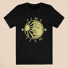 Time Team British Logo Men's Black T-Shirt Size S-3XL