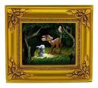 New Disney Parks Olszewski Gallery of Light Bambi and Thumper Woodland Wonder
