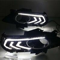 CAR DRL FOR FORD FUSION MONDEO 2013 2014 2015 LED DAYTIME RUNNING LIGHT FOG LAMP