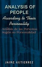 Analysis of People According to Their Personality : Analisis de Las Personas...