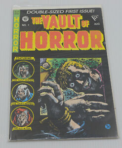 THE VAULT OF HORROR No. 1 COMIC BOOK, DOUBLE SIZED, REPRINT OF OLD STORIES, EC