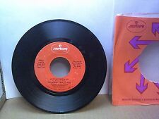 Old 45 RPM Record - Mercury 73060 - Bobby Gene Six Pac - Let the People Go / Whe