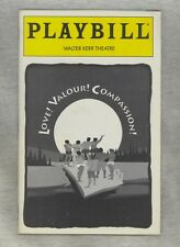 Playbill Love! Valour! Compassion!  Sept. 1995 Closing Cast: Glover Cantone Kirk