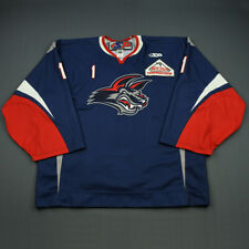 2008-09 Mitch O'Keefe Elmira Jackals Game Used Worn ECHL Hockey Jersey MeiGray