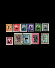 ,Vintage: Colombia 1950 Og Nh Scott C175-85 $99 Est Nh Lot #Col1950A