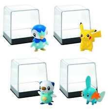 POKEMON SMALL FIGURE CASE 201502 2ea Pikachu Mudkip Piplup Oshawott  #snov16-40