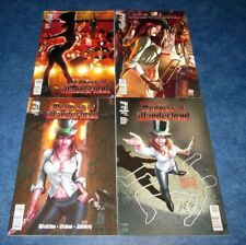 MADNESS of WONDERLAND ongoing #1 2 3 4 B set GRIMM FAIRY TALES zenescope SEXY NM