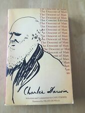 The Descent of Man : The Concise Edition by Charles Darwin (2007 Paperback) Good