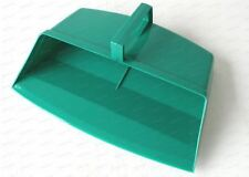 Green Colour Coded Food Hygiene Hooded Dustpan Strong Plastic Closed Dust Pan
