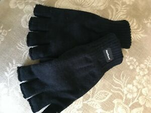 Mens Fingerless Thermal Gloves