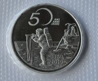 Switzerland 20 Franc Silver 50 Years Moon Landing 2019 Apollo 11 Uncirculated