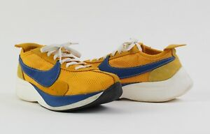 Nike Moon Racer QS Yellow Ochre Men's Size 11.5 Lifestyle Trainer Shoe Sneakers