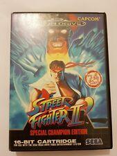 Street Fighter 2 Sega Mega Drive completo Versión Europea vendida en España Leer